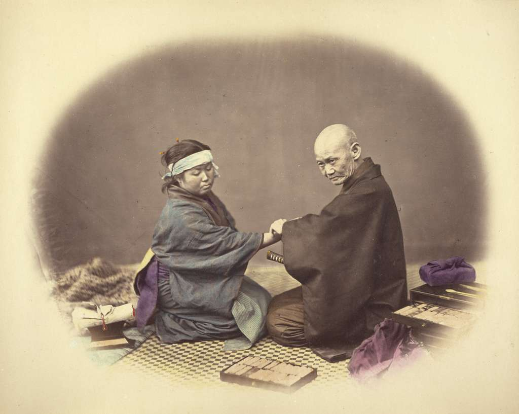 Japanese Doctor and Patient
