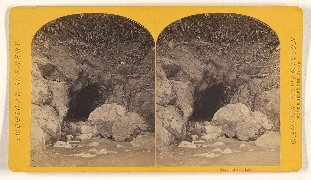 Cave, Limon Bay.