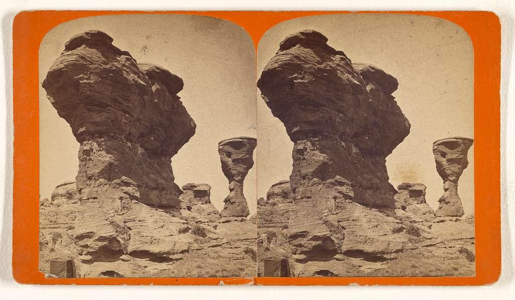 Centennial Rocks, near Red Buttes.