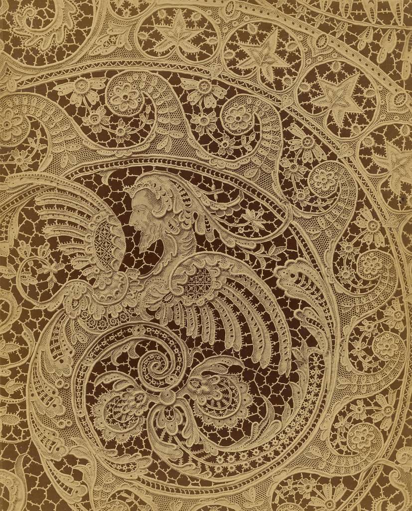 [Detail of lace]