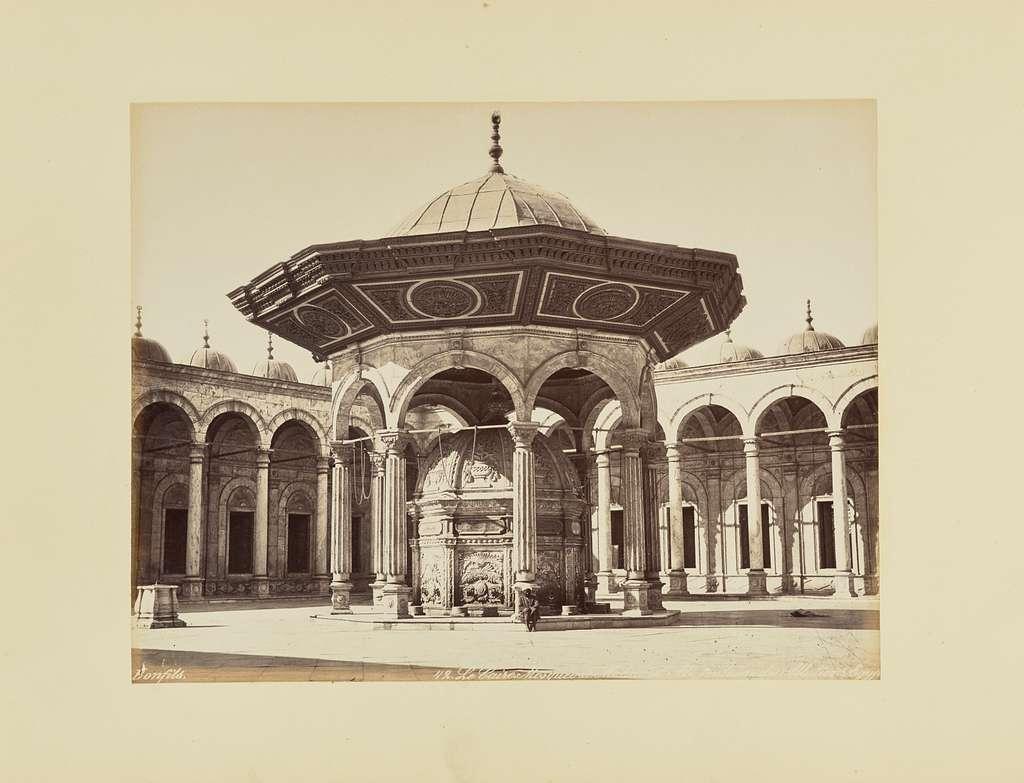 Le Caire. Mosquée de Mohamet Ali, fontaine des Ablutions [sic], Égypt
