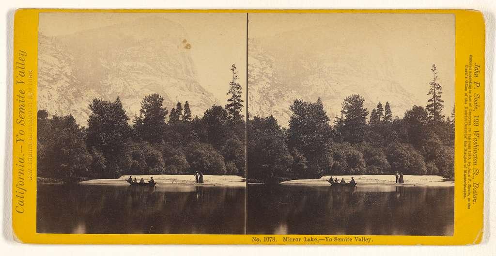 Mirror Lake - Yo Semite Valley.