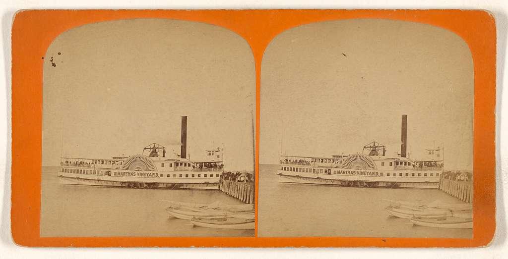 "[Paddleboat ""Martha's Vineyard""]"
