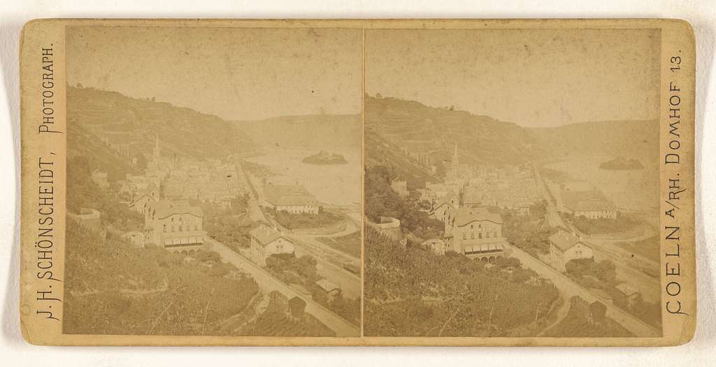 Panorama of Bacharach
