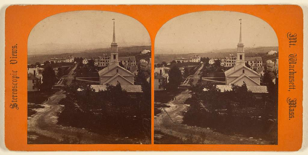 Princeton from Sunset Rock. [Mt. Wachusett, Mass.]