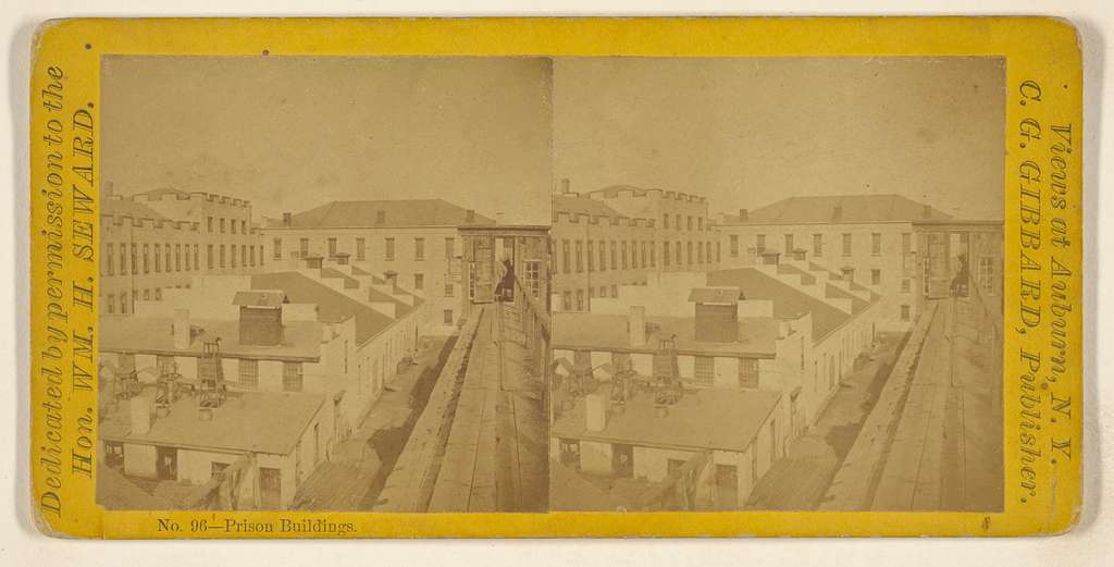 Prison Buildings. [Auburn, New York]
