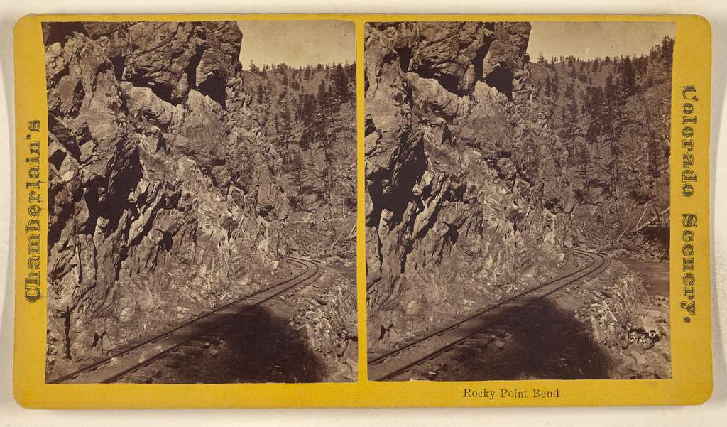 Rocky Point Bend [Grand Canon of Clear Creek, Colorado]