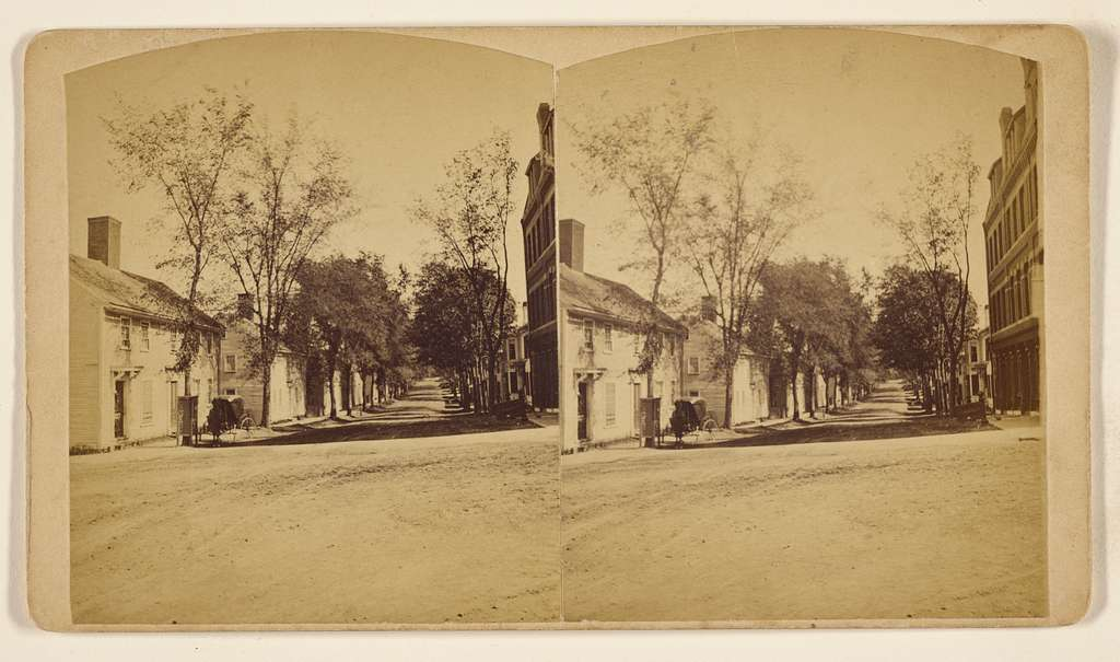 [View of Main Street, Great Falls, New Hampshire]