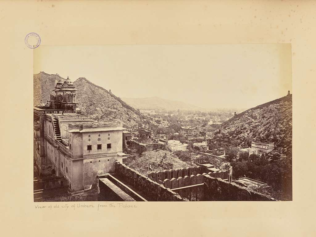 Amber; View of the Old City, from the Palace, Looking East