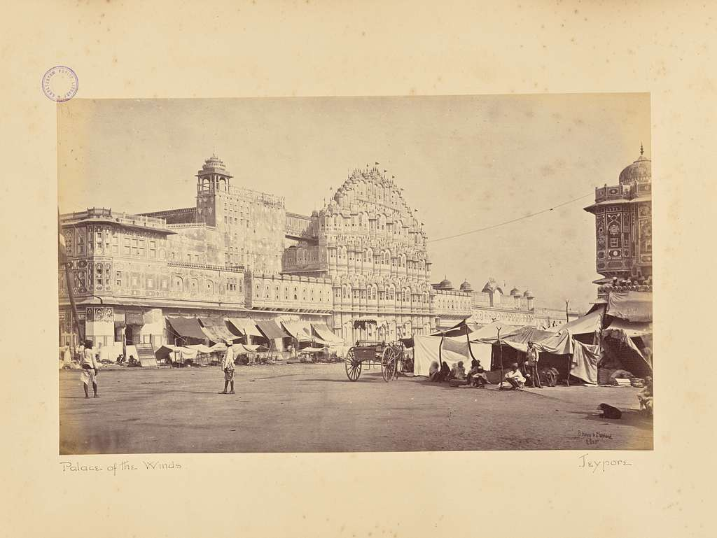 Jaypur; The Hauwa Mahal, or Palace of the Wind