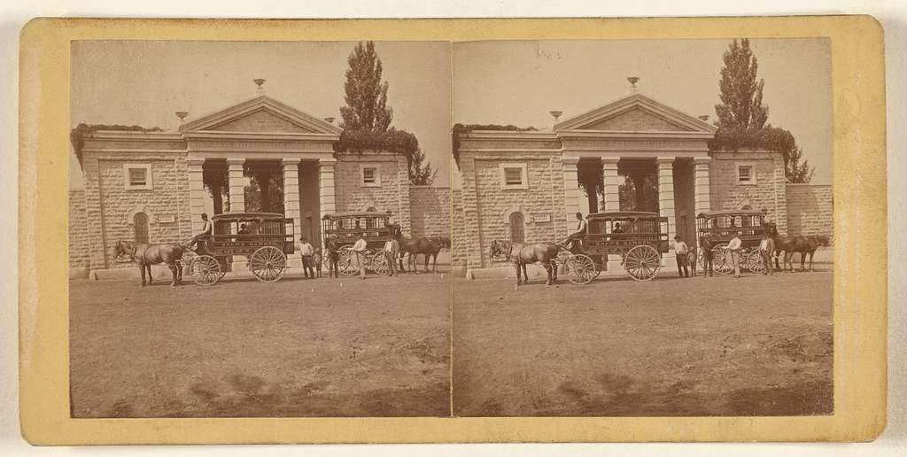 Shaw's Garden. Main Entrance, outside view. [St. Louis, Missouri]