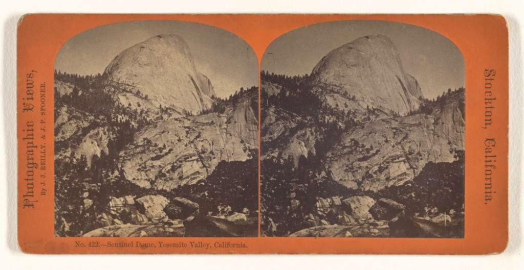 Sentinel Dome, Yosemite Valley, California.