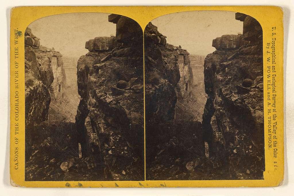 "[""Side Gorge,"" Grand Canon of the Colorado]"