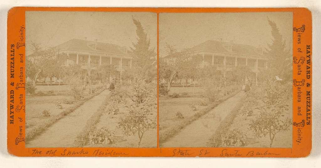 The old Sparks Residence, State St, Santa Barbara