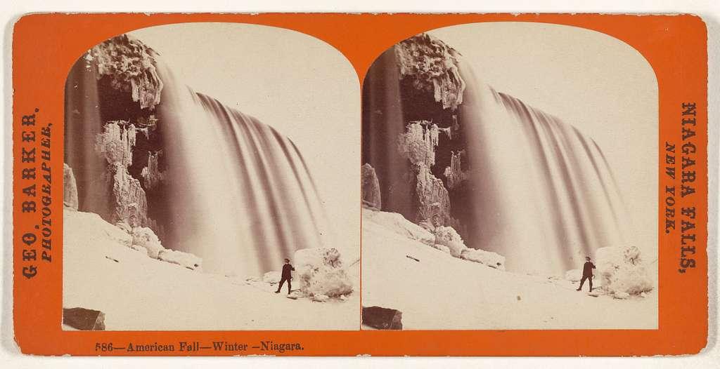 American Fall - Winter - Niagara.