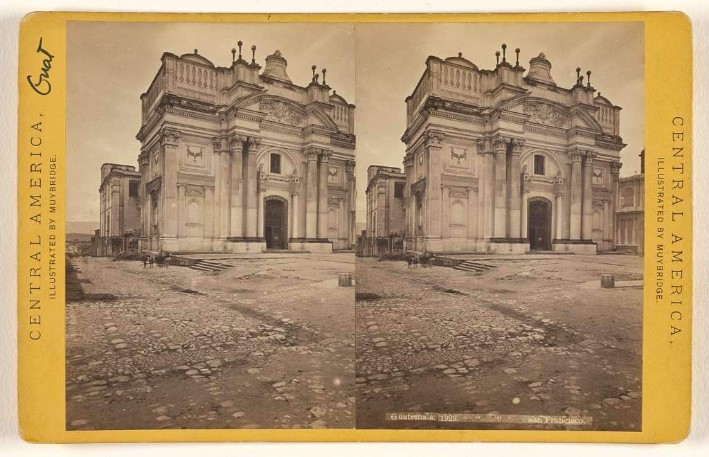Guatemala, Church of San Francisco.