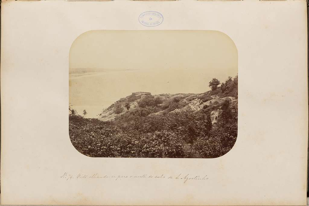 Vista olhando - se para o norte do cabo de Santo Agostinho