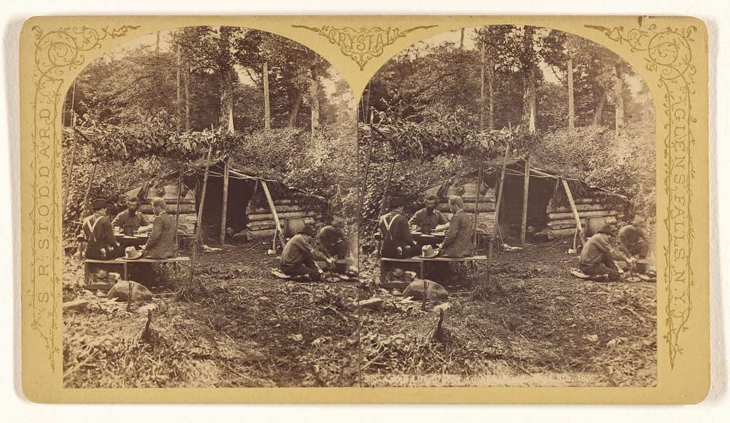 [Camp Life at Ausable, 1876]