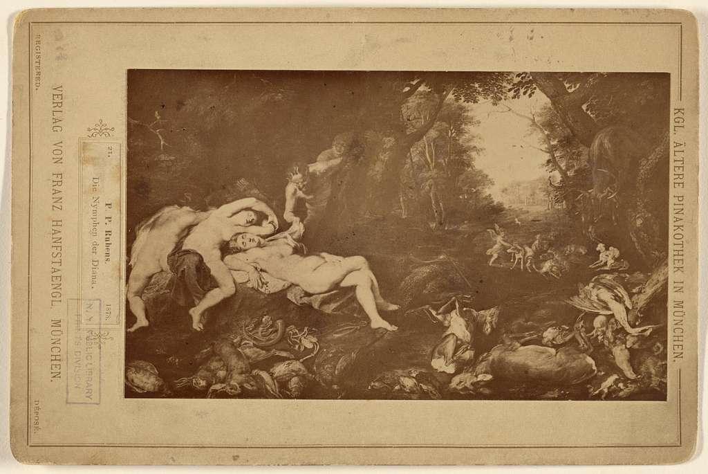 P.P. Rubens. Die Nymphen der Diana.