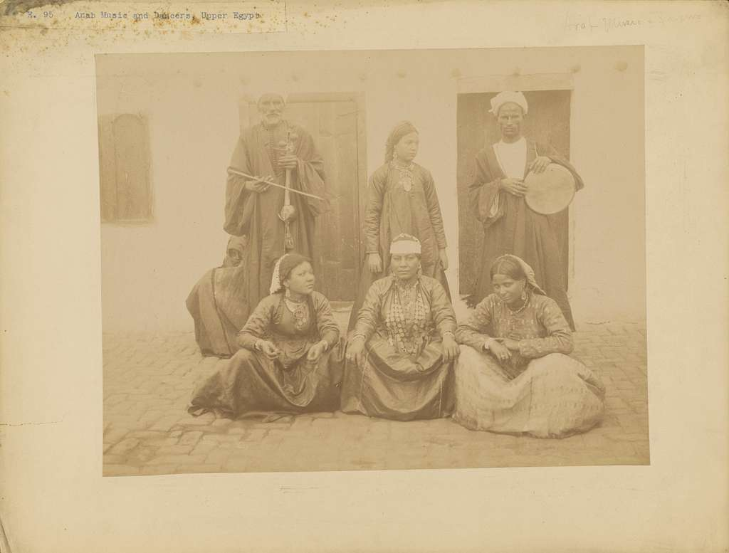 [Arab Music and Dancers, Upper Egypt]