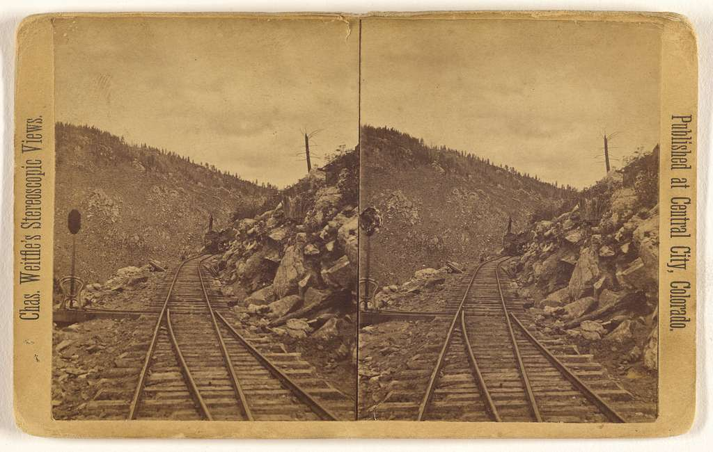 [View on the Colorado Central R.R. from Black Hawk to Central City, Colorado]