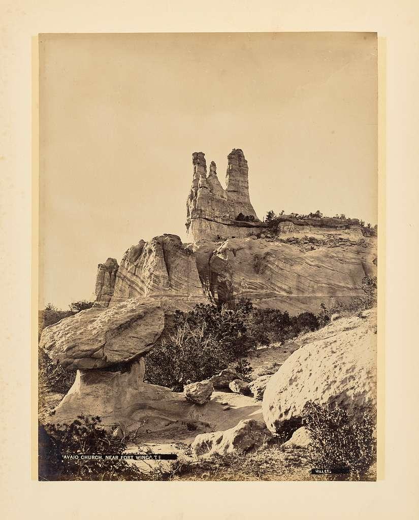 Navajo Church near Fort Wingate