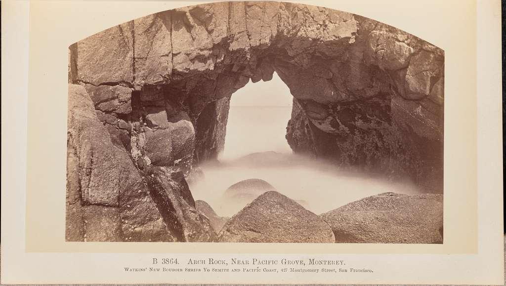 Arch Rock, Near Pacific Coast, Monterey