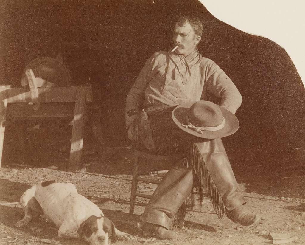 [Cowboy at the B-T Ranch, Missouri Territory]