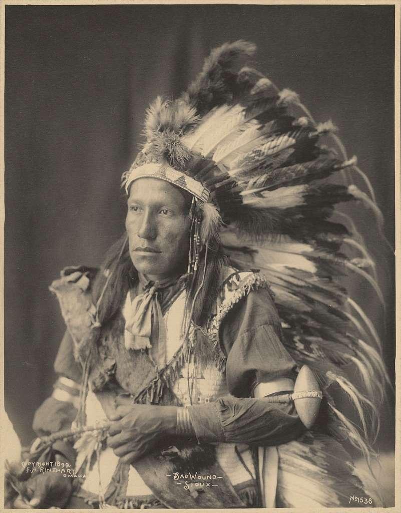 Bad Wound, Sioux