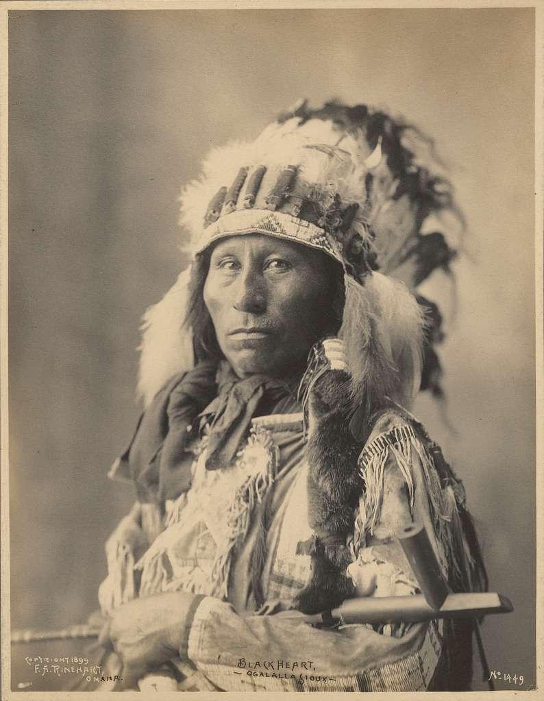Blackheart, Ogalalla Sioux
