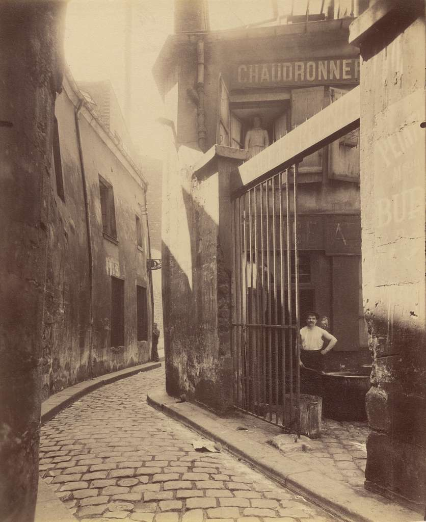 Entrée du passage de la Réunion, 1 et 3 Rue du Maure, 3° arrondissement